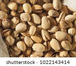 many pistachios food useful as... | Shutterstock . vector #1022143414