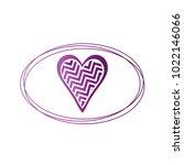simple vector hearts icon | Shutterstock .eps vector #1022146066