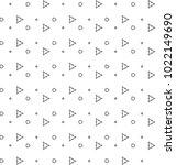 seamless ornamental vector... | Shutterstock .eps vector #1022149690