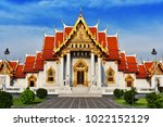 wat benchamabophit or the... | Shutterstock . vector #1022152129