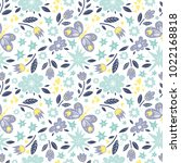 vector background pattern with... | Shutterstock .eps vector #1022168818
