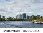 highrise buildings in ft... | Shutterstock . vector #1022170216