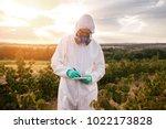 weed control. industrial...   Shutterstock . vector #1022173828