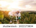 weed control. industrial...   Shutterstock . vector #1022173834