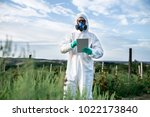 weed control. industrial...   Shutterstock . vector #1022173840