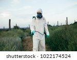 weed control. industrial...   Shutterstock . vector #1022174524