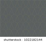 seamless triangle line pattern... | Shutterstock .eps vector #1022182144