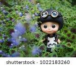 pathumthani thailand  january... | Shutterstock . vector #1022183260