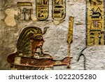 the valley of the kings  is a... | Shutterstock . vector #1022205280