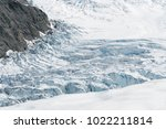 fox glacier aerial view west... | Shutterstock . vector #1022211814