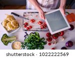 cooking  culinary  food ... | Shutterstock . vector #1022222569