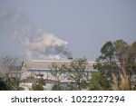 factories is sources of air... | Shutterstock . vector #1022227294