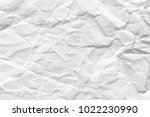 paper white wrinkled and aged.... | Shutterstock . vector #1022230990