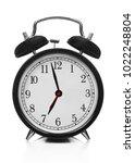 clock on white | Shutterstock . vector #1022248804