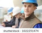 portrait of young man in...   Shutterstock . vector #1022251474