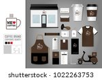 corporate identity template set ... | Shutterstock .eps vector #1022263753