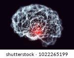 dementia and alzheimer's... | Shutterstock . vector #1022265199