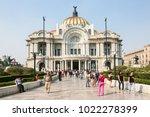 mexico city  mexico   march 3d  ...   Shutterstock . vector #1022278399