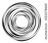 geometric radial element.... | Shutterstock .eps vector #1022278660