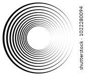 geometric radial element.... | Shutterstock .eps vector #1022280094