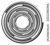 geometric radial element....   Shutterstock .eps vector #1022280346