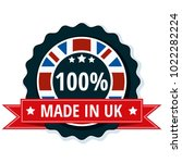 made in united kingdom of great ... | Shutterstock .eps vector #1022282224