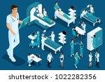 isometrics medicine  doctor ... | Shutterstock .eps vector #1022282356