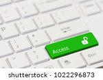 Green Key With Text Access And...