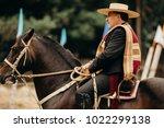pichilemu  sexta region   chile ... | Shutterstock . vector #1022299138