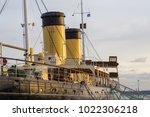 tallinn  estonia  december 31 ... | Shutterstock . vector #1022306218