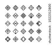diamond shape   geometric...   Shutterstock .eps vector #1022312800