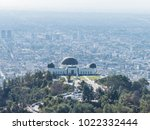 aerial view of griffith... | Shutterstock . vector #1022332444