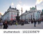 london  uk   circa april 2017 ... | Shutterstock . vector #1022335879