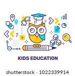 vector creative illustration of ... | Shutterstock .eps vector #1022339914