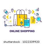 vector creative illustration of ... | Shutterstock .eps vector #1022339920