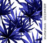 watercolor seamless pattern... | Shutterstock . vector #1022344309