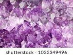 Macro Photo Of Lilac Amethyst...