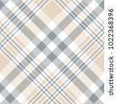 plaid check pattern in beige... | Shutterstock .eps vector #1022368396