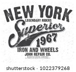 vintage apparel graphic | Shutterstock .eps vector #1022379268