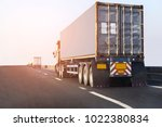 truck on road container