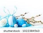 happy easter. congratulatory... | Shutterstock . vector #1022384563