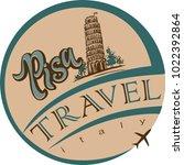 travel. design for the tourism...   Shutterstock .eps vector #1022392864