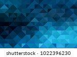 dark blue vector triangle...   Shutterstock .eps vector #1022396230