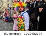 ljubljana  slovenia on february ...   Shutterstock . vector #1022402179
