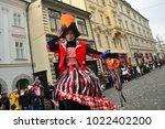 ljubljana  slovenia on february ...   Shutterstock . vector #1022402200