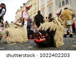 ljubljana  slovenia on february ...   Shutterstock . vector #1022402203