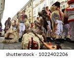 ljubljana  slovenia on february ...   Shutterstock . vector #1022402206