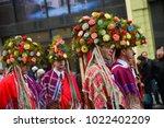 ljubljana  slovenia on february ...   Shutterstock . vector #1022402209