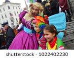 ljubljana  slovenia on february ...   Shutterstock . vector #1022402230