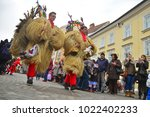 ljubljana  slovenia on february ...   Shutterstock . vector #1022402233
